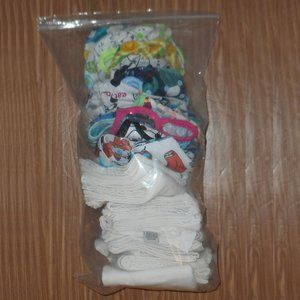 Ozo Cozy Flats and Diaper Covers  7 NB  & covers